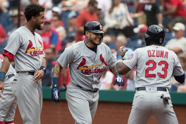 MLB | Cleveland Indians (43-33) at St. Louis Cardinals (40-36)