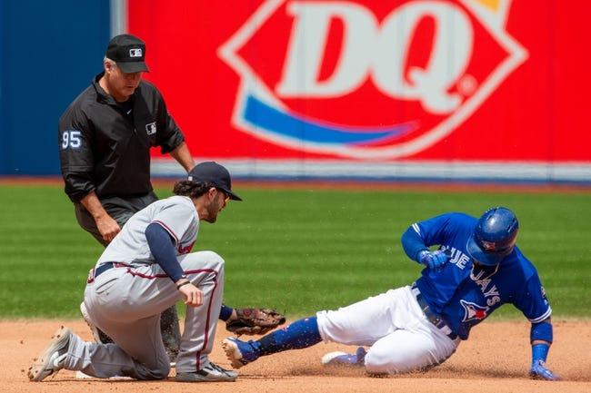 Atlanta Braves vs. Toronto Blue Jays - 7/10/18 MLB Pick, Odds, and Prediction