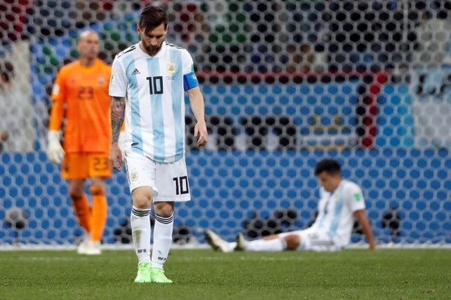 Nigeria vs. Argentina - 6/26/18 World Cup Soccer Pick, Odds, and Prediction