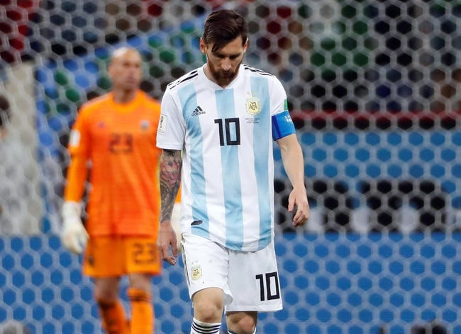 Argentina vs Nigeria - 6/26/18 World Cup Soccer Pick, Odds, and Prediction