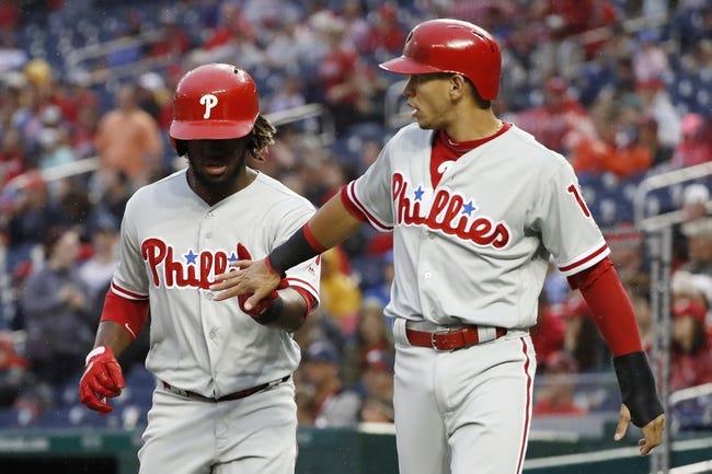Washington Nationals vs. Philadelphia Phillies - 6/23/18 MLB Pick, Odds, and Prediction