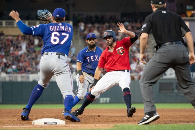 Minnesota Twins vs. Texas Rangers - 6/23/18 MLB Pick, Odds, and Prediction