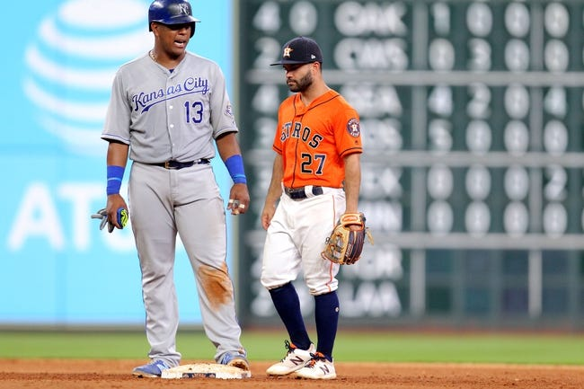 Houston Astros vs. Kansas City Royals - 6/23/18 MLB Pick, Odds, and Prediction