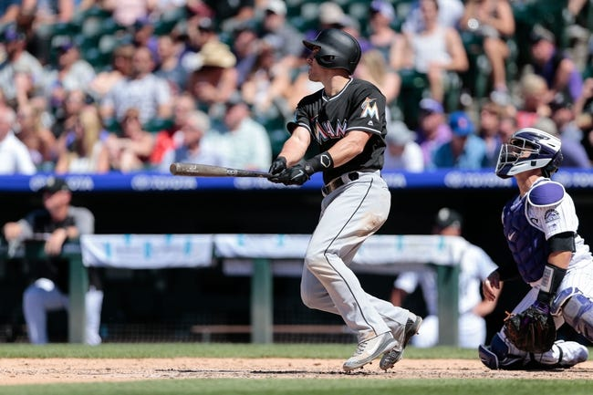 MLB | Miami Marlins (29-47) at Colorado Rockies (38-38)