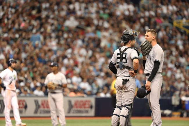 MLB | New York Yankees (50-23) at Tampa Bay Rays (35-40)