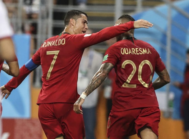 Uruguay vs. Portugal - 6/30/18 World Cup Soccer Pick, Odds, and Prediction