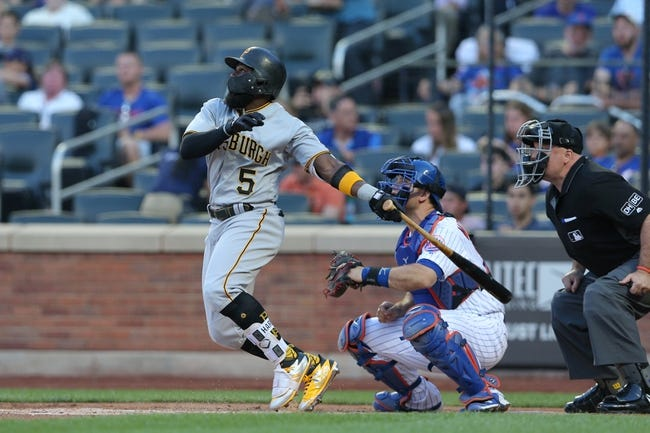 MLB | Pittsburgh Pirates (36-41) at New York Mets (31-44)