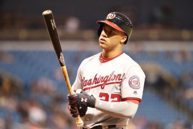 MLB | Washington Nationals (41-35) at Tampa Bay Rays (37-40)