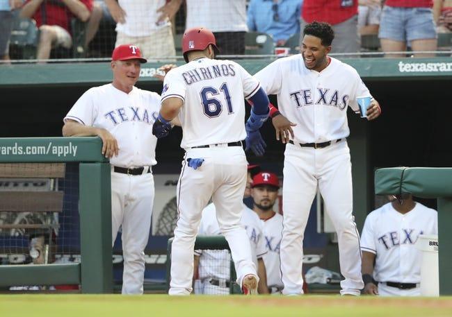 Texas Rangers vs. San Diego Padres - 6/27/18 MLB Pick, Odds, and Prediction