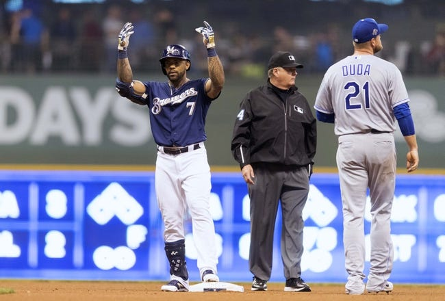 Milwaukee Brewers vs. Kansas City Royals - 6/27/18 MLB Pick, Odds, and Prediction