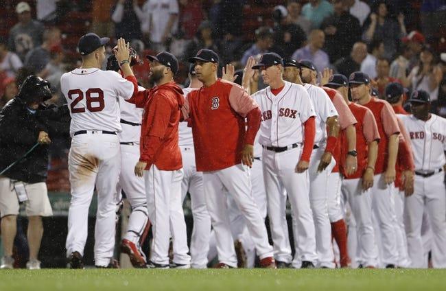 MLB | Los Angeles Angels (41-40) at Boston Red Sox (54-27)