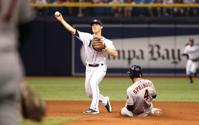 Tampa Bay Rays vs. Houston Astros - 6/29/18 MLB Pick, Odds, and Prediction