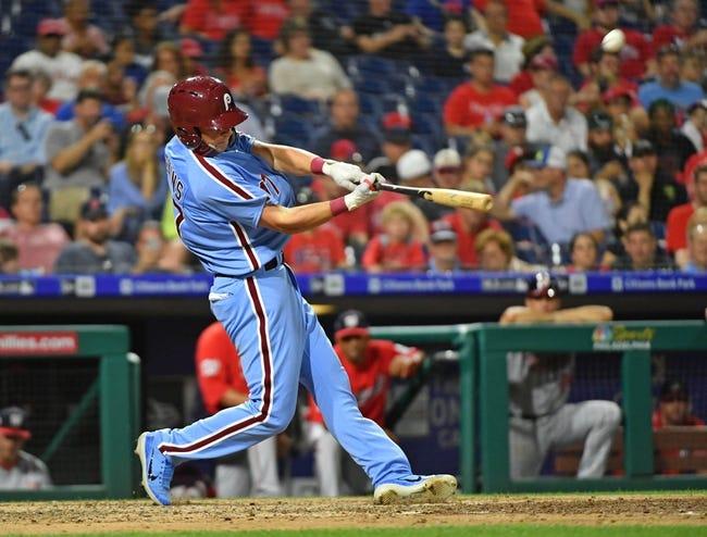 MLB | Washington Nationals (41-37) at Philadelphia Phillies (42-36)
