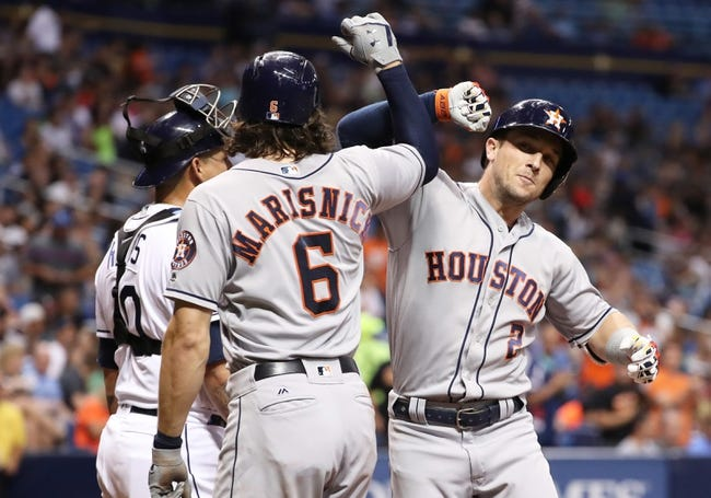 MLB | Houston Astros (55-28) at Tampa Bay Rays (39-41)