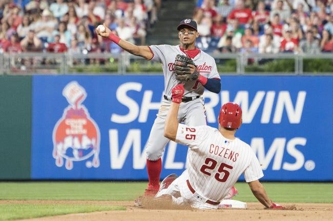 Philadelphia Phillies vs. Washington Nationals - 6/30/18 MLB Pick, Odds, and Prediction