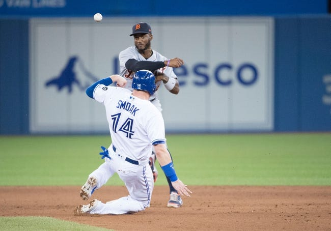Toronto Blue Jays vs. Detroit Tigers - 6/30/18 MLB Pick, Odds, and Prediction