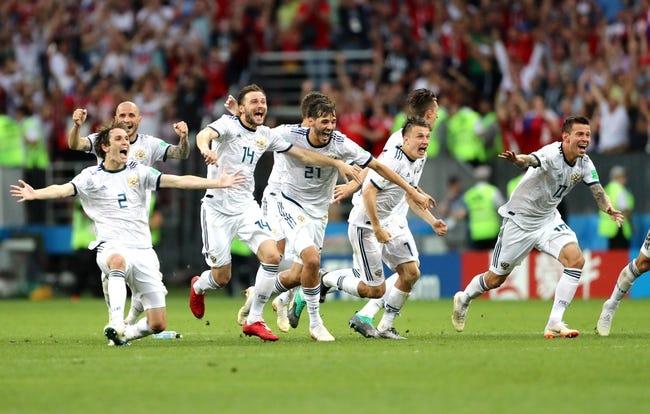 Russia vs. Croatia - 7/7/18 World Cup Soccer Pick, Odds, and Prediction