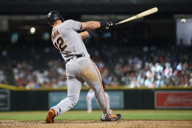 Arizona Diamondbacks vs. San Francisco Giants - 8/2/18 MLB Pick, Odds, and Prediction