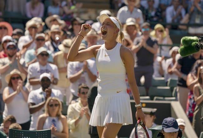 Donna Vekic vs. Yanina Wickmayer 2018 Wimbledon Tennis Pick, Preview, Odds, Prediction