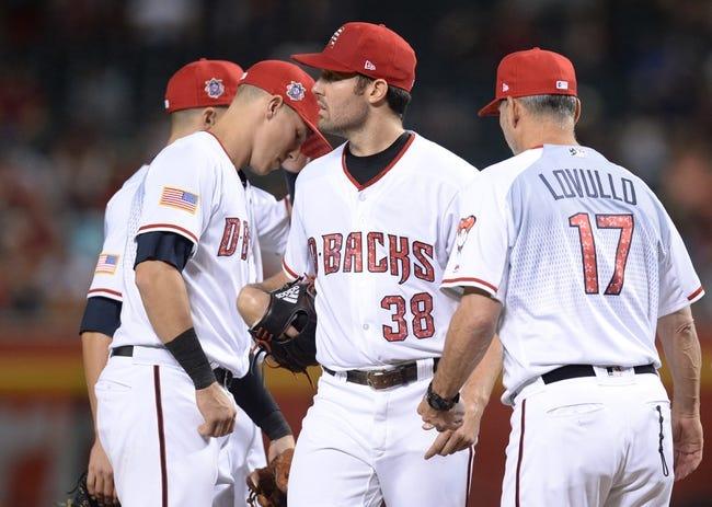 Arizona Diamondbacks vs. St. Louis Cardinals - 7/3/18 MLB Pick, Odds, and Prediction