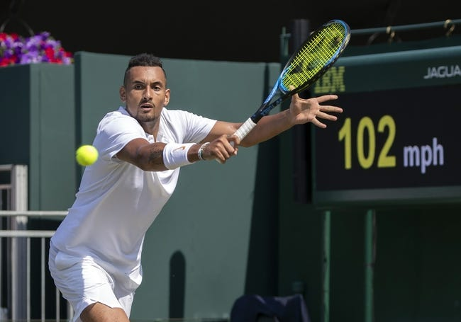 Nick Kyrgios vs Kei Nishikori 2018 Wimbledon Tennis Pick, Preview, Odds, Predictions
