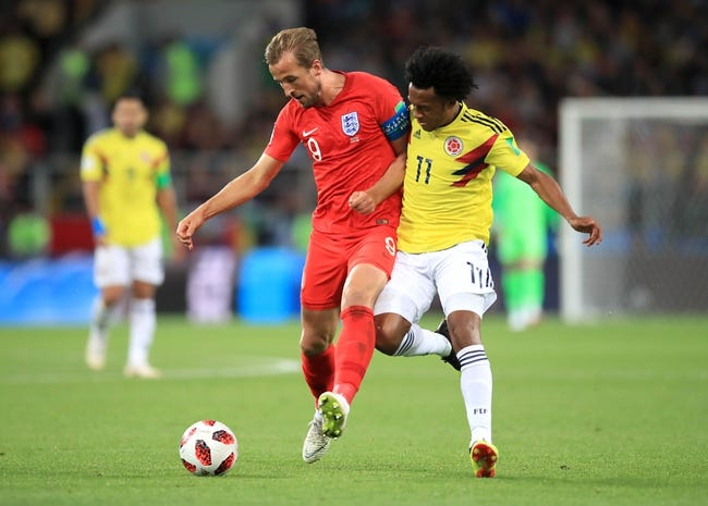 Sweden vs. England - 7/7/18 World Cup Soccer Pick, Odds, and Prediction