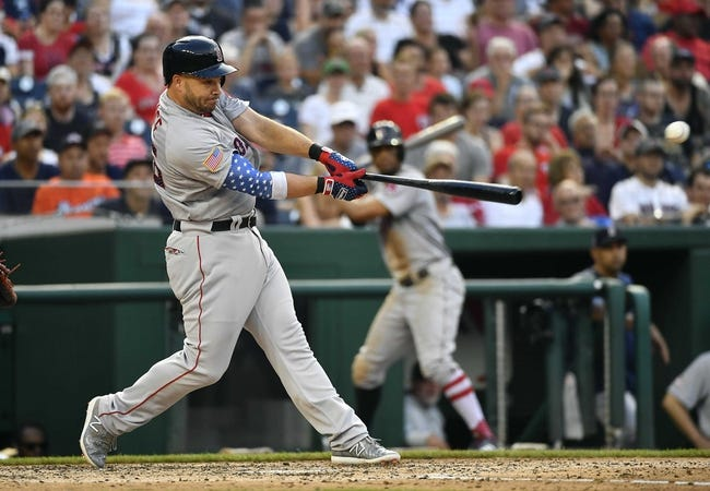 Washington Nationals vs. Boston Red Sox - 7/4/18 MLB Pick, Odds, and Prediction