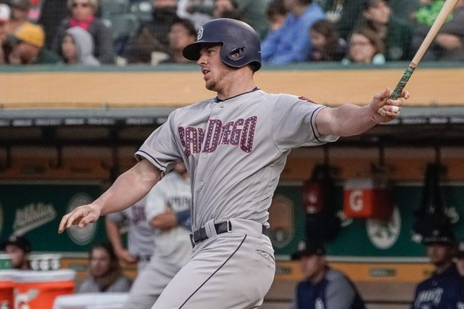 MLB | San Diego Padres (37-49) at Oakland Athletics (46-39)
