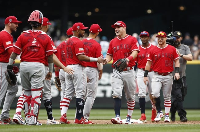 Seattle Mariners vs. Los Angeles Angels - 7/5/18 MLB Pick, Odds, and Prediction