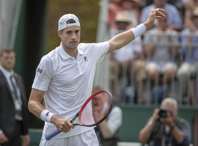 John Isner vs. Stefanos Tsitsipas 2018 Wimbledon Tennis Pick, Preview, Odds, Prediction