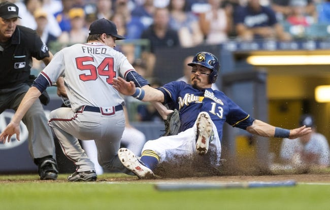 MLB | Atlanta Braves (49-36) at Milwaukee Brewers (51-35)