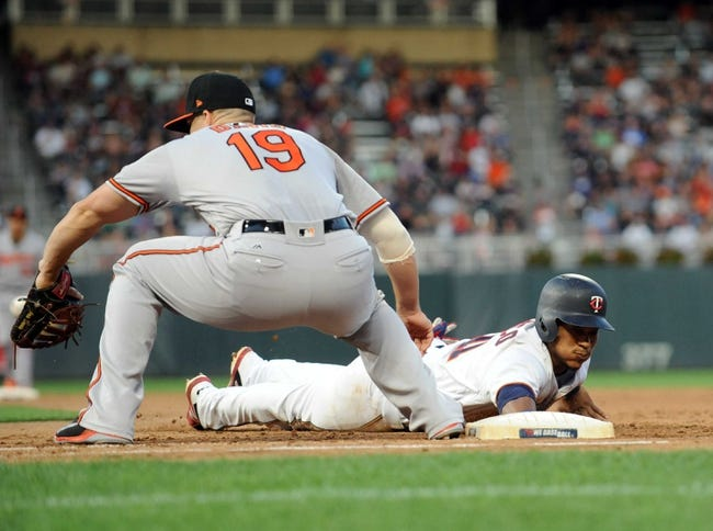 Minnesota Twins vs. Baltimore Orioles - 7/6/18 MLB Pick, Odds, and Prediction