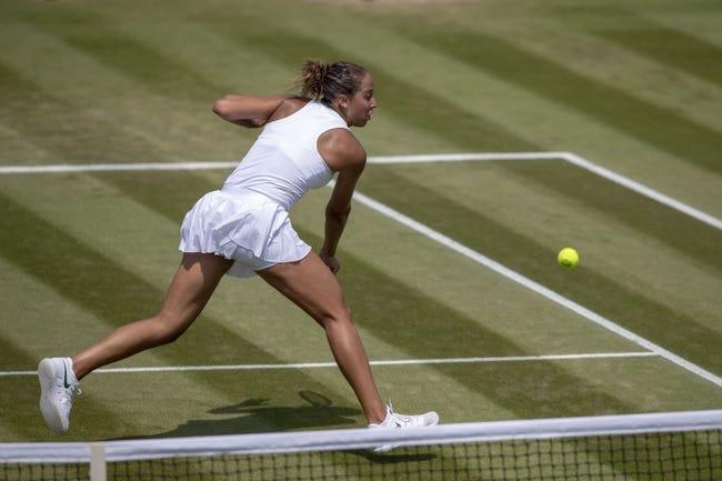 Tennis   Mona Barthel vs Madison Keys