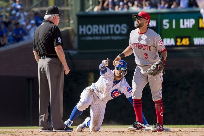 MLB | Cincinnati Reds (39-50) at Chicago Cubs (50-36)