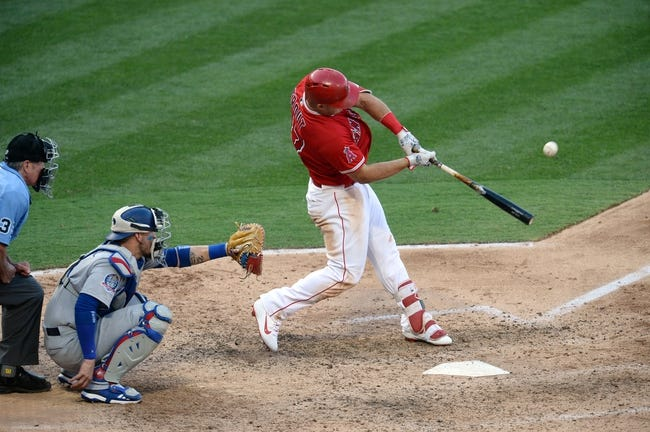 MLB | Los Angeles Dodgers (48-40) at Los Angeles Angels (45-45)