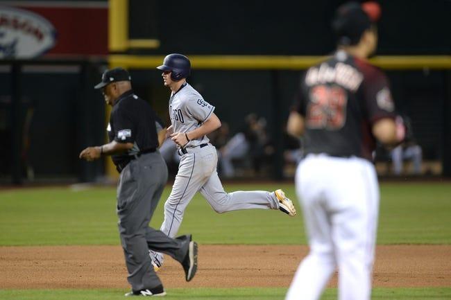 Arizona Diamondbacks vs. San Diego Padres - 7/8/18 MLB Pick, Odds, and Prediction