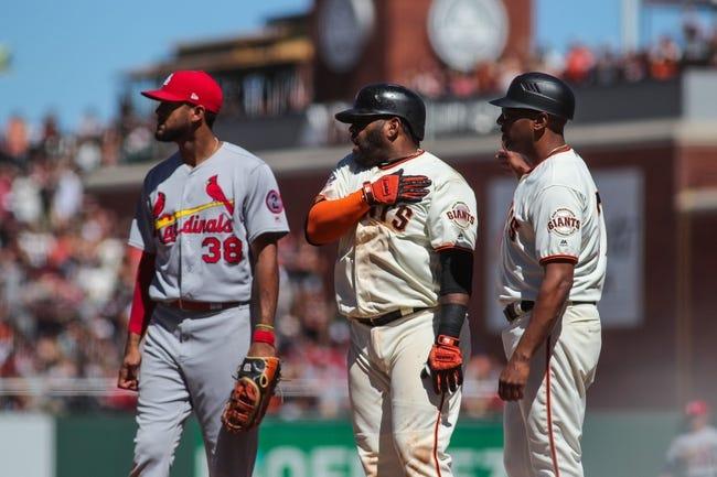 MLB | San Francisco Giants (72-81) at St. Louis Cardinals (84-69)