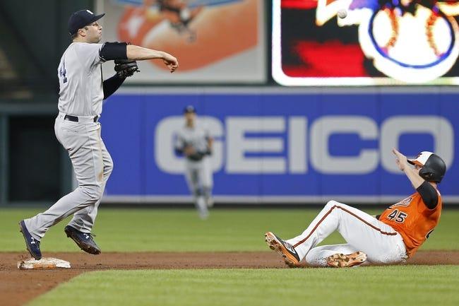 Baltimore Orioles vs. New York Yankees - 7/10/18 MLB Pick, Odds, and Prediction