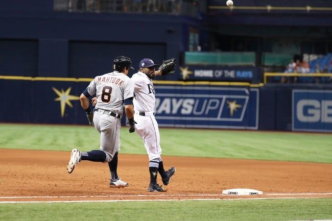 Tampa Bay Rays vs. Detroit Tigers - 7/10/18 MLB Pick, Odds, and Prediction