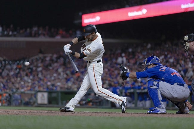San Francisco Giants vs. Chicago Cubs - 7/10/18 MLB Pick, Odds, and Prediction