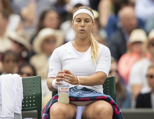 Dominika Cibulkova vs. Julia Goerges 2018 Connecticut Open Tennis Pick, Preview, Odds, Prediction
