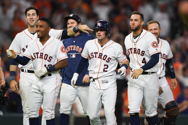 MLB | Oakland Athletics (51-40) at Houston Astros (61-32)