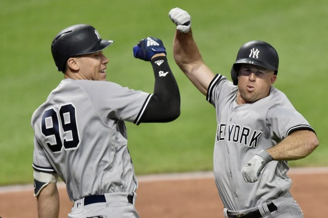 Cleveland Indians vs. New York Yankees - 7/13/18 MLB Pick, Odds, and Prediction