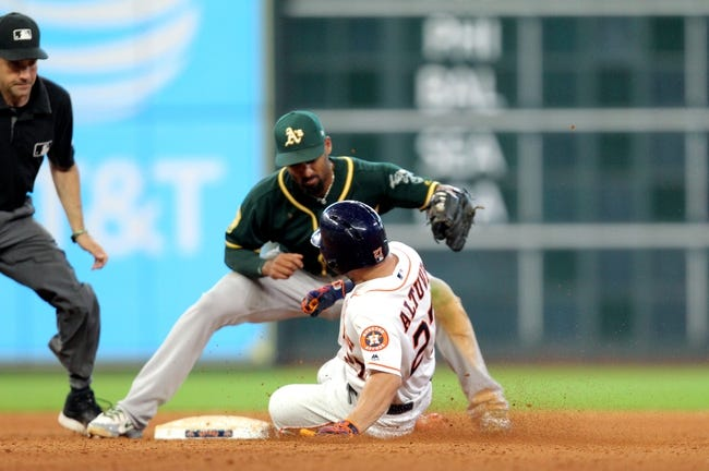 Oakland Athletics vs. Houston Astros - 8/17/18 MLB Pick, Odds, and Prediction