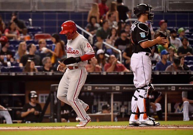 Miami Marlins vs. Philadelphia Phillies - 7/14/18 MLB Pick, Odds, and Prediction