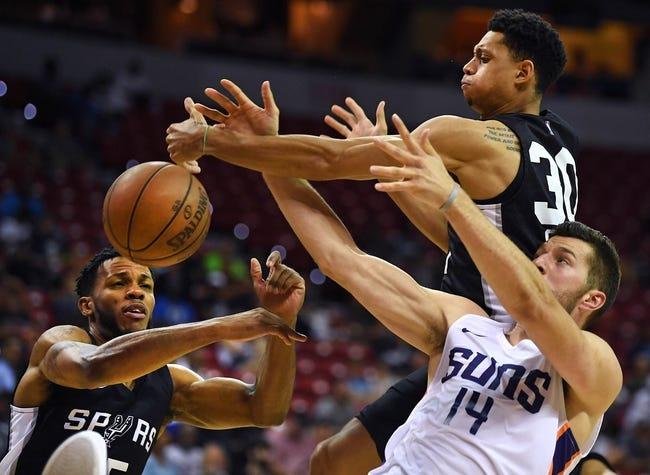 Phoenix Suns vs. San Antonio Spurs - 10/31/18 NBA Pick, Odds, and Prediction