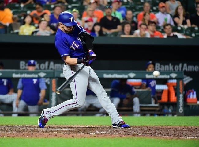 Baltimore Orioles vs. Texas Rangers - 7/14/18 MLB Pick, Odds, and Prediction