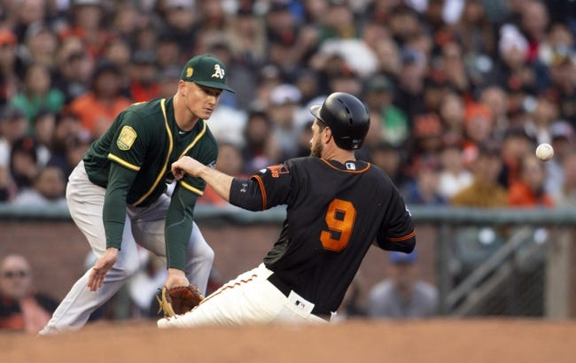San Francisco Giants vs. Oakland Athletics - 7/15/18 MLB Pick, Odds, and Prediction