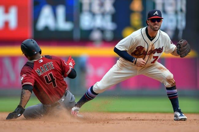 Arizona Diamondbacks vs. Atlanta Braves - 9/6/18 MLB Pick, Odds, and Prediction
