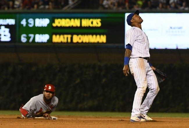 MLB | St. Louis Cardinals (48-46) at Chicago Cubs (55-38)